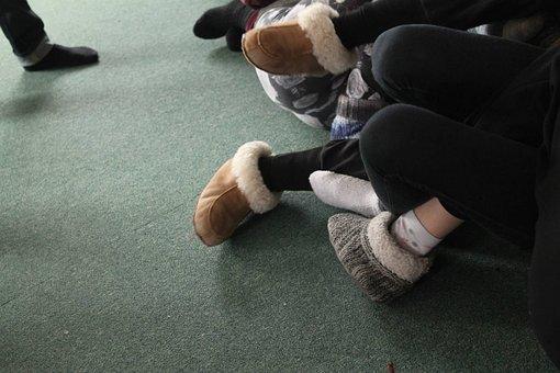 Feet, Catechist, Floor, Play