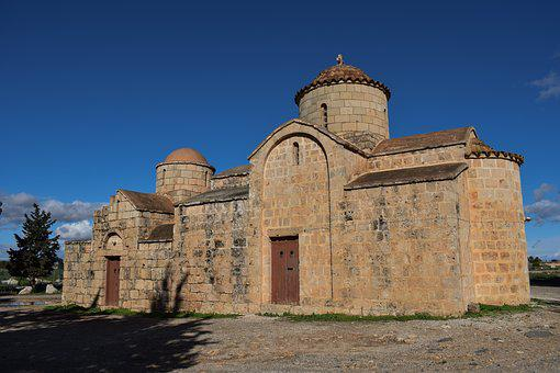 Cyprus, Sotira, Church, Orthodox, Medieval, Religion