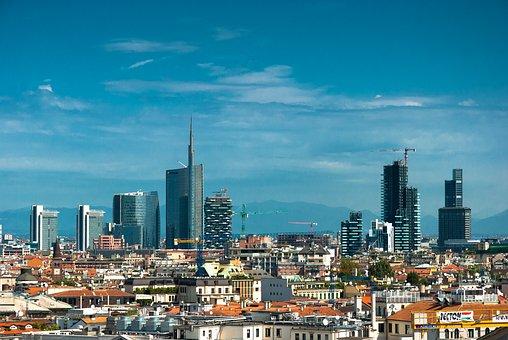 Milan, The Sun, Holidays, Clouds, Sky, Landscape