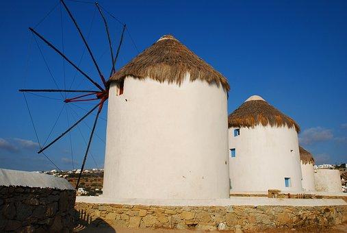 Mykonos, Island, Greece, Mediterranean, Cyclades