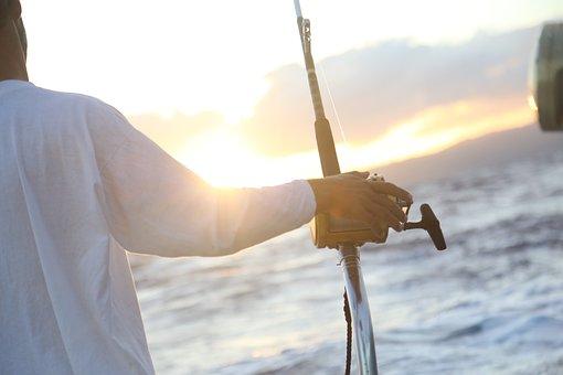 Ocean, Fishing, Deep Sea Fishing, Fisherman, Sport