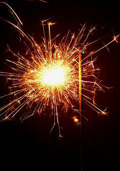 Celebration, Fire, Fireworks, Greeting, Congratulations