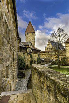 Coburg, Castle, Fortress, Historically, Germany