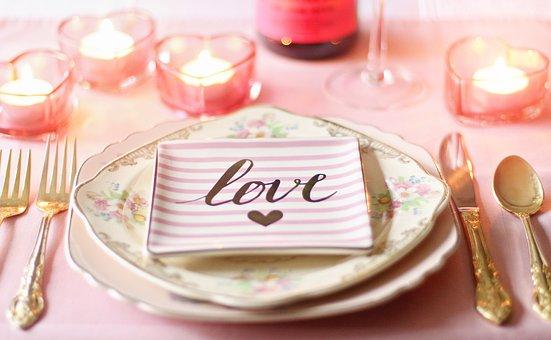 Love, Valentine, Valentines Day, Valentines Day Table