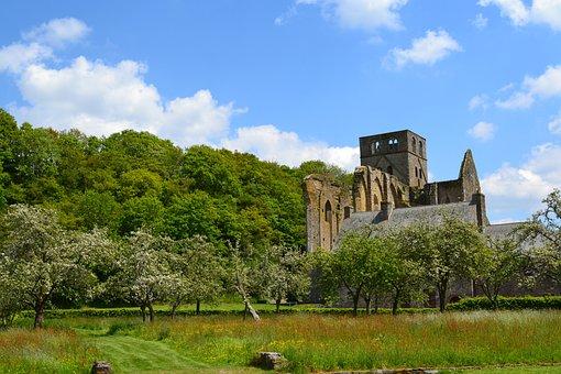Abbey, Hambye, Normandy