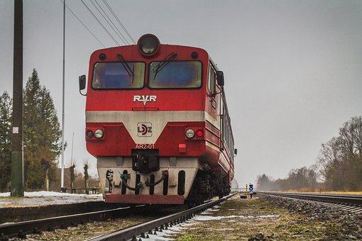 Ar2, Railway Wagon, Railway, Daudzeva, Latvia, Photo
