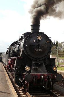 Locomotive, Nostalgic, Steam Railway, Steam Locomotive