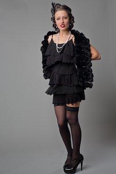 Style, Old-fashioned, Women, Model, Fashion