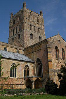 Tewkesbury, Cathedral, England