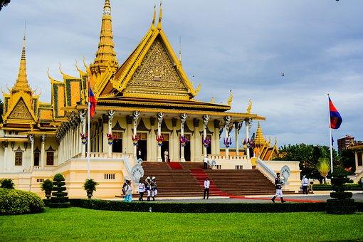 Royal Palaces, The City Of Phnom Penh, Cambodia