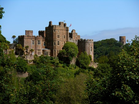 Dunster Castle, Castle, Dunster, Architecture, Tower