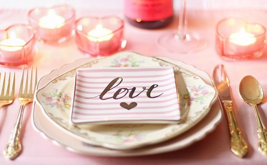 Love, Valentine, Valentines Day, Valentines Day Table