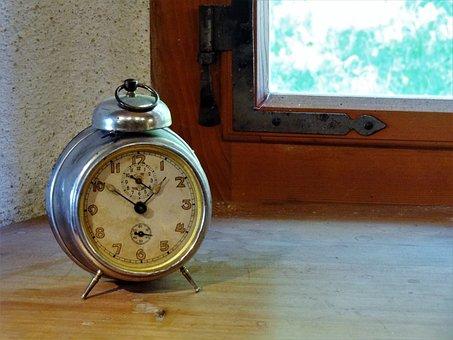 Alarm Clock, Bedroom, Morning, Wake Up, Oversleeping