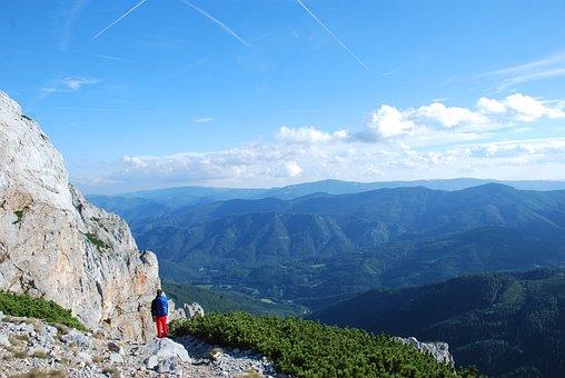 Austria, Ferrata, Climbing, Adventure, Rock, Hollental