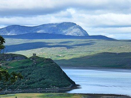 Forground Scotland, Highlands, Ben More Mountain