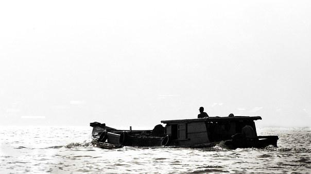 River, Boat, Mahakam, Samantha