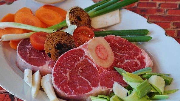 Beef, Meat, Soup, Bouillon, Beef Soup, Bone, Meat Soup