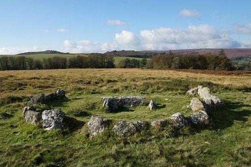 Cistvaen, Stone Circle, Dartmoor, National Park