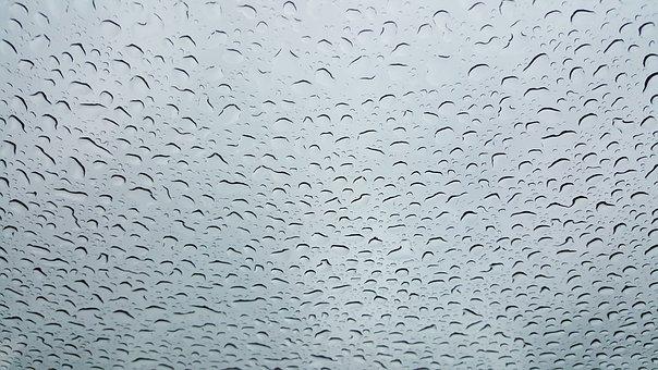 Drop Of Water, Drip, Wet, Water, Close, Rain, Run Off
