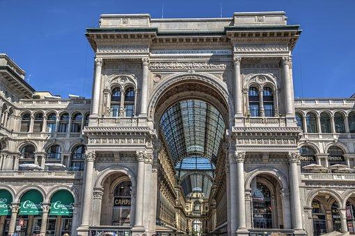 Galleria Vittorio Emanuele, Milan, Duomo Di Milano