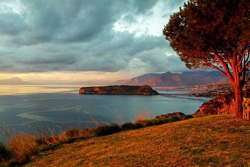 Praia A Mare, Calabria, Italy, Island Dino, Landscape