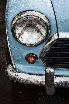 Automobile, Car, Old Vehicle, Old Car, Vehicle, Lantern