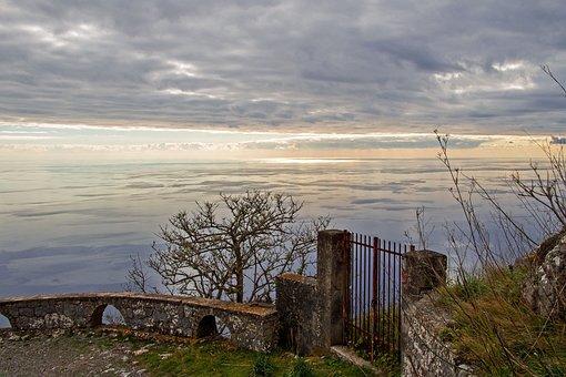 Maratea, Monte San Biagio, Noon, Sunset, Basilicata