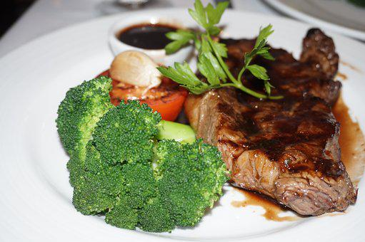 Food, Dining, Fine, Meat, Meal, Plate, Gourmet