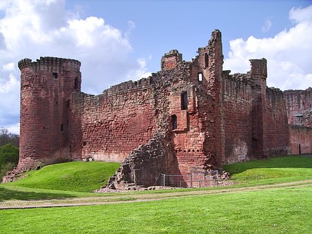 Scotland, Bothwell Castle, Medieval, Red Sandstone