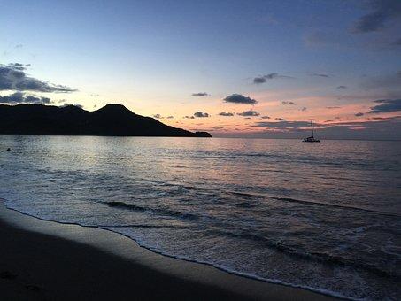 Sunset By Ocean, Beach Ocean Sky, Wellness Perspective