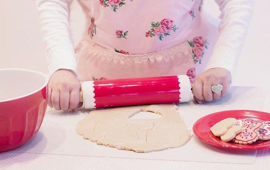 Valentine, Valentines Day, Love, Baking, Vintage