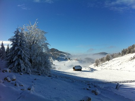 Winter, Mountain, Fundata, Snow