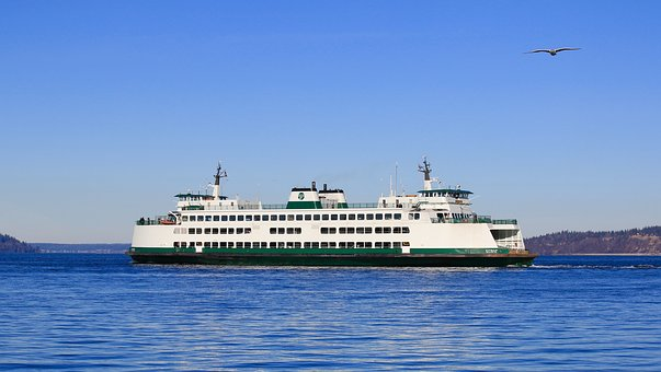 Ferry, Boat, Transportation, Ship, Water, Travel