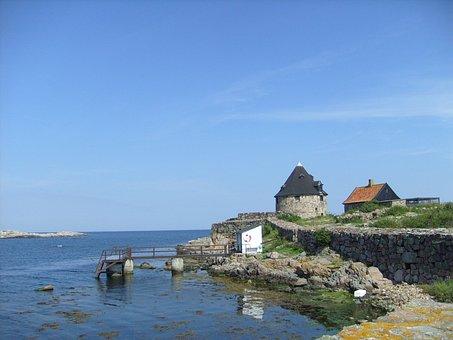 Christiansoe, Tower, Baltic Sea