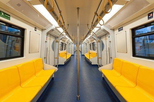Bangkok, City, Coach, Commuter, Empty, Inside, Interior