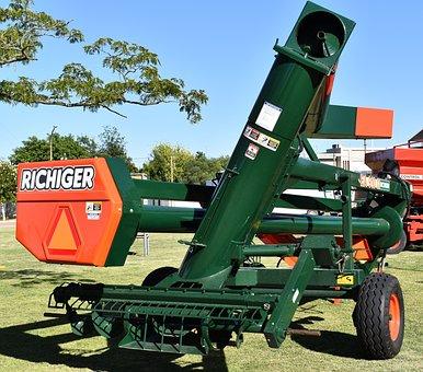 Farm Equipment, Grain Loader, Worm, Hopper