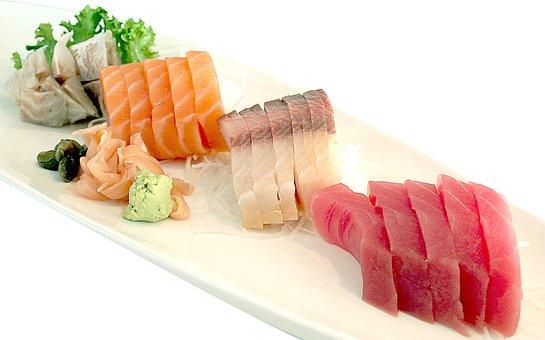 Tuna, Salmon, Japan, Seafood, Fish, Sea, Healthy, Sushi