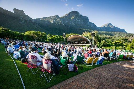 Kirstenbosch Botanical Gardens, Summer Concert