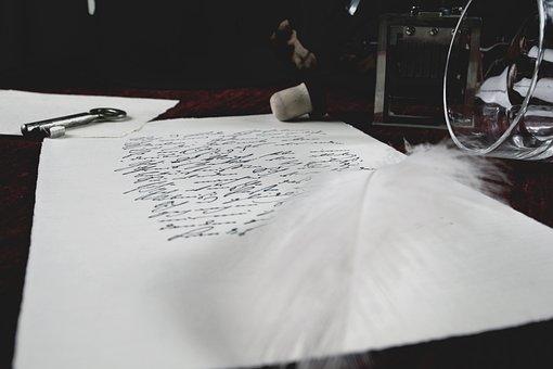 Letters, Glass, Spring, Leave, Post, Broken Heart, Old