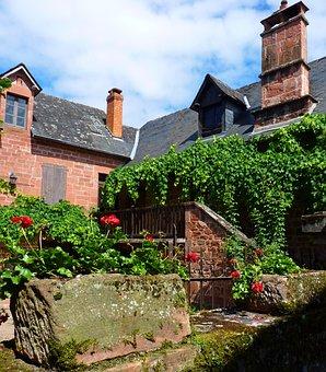 Old Houses, Village, France, Medieval, Old Village