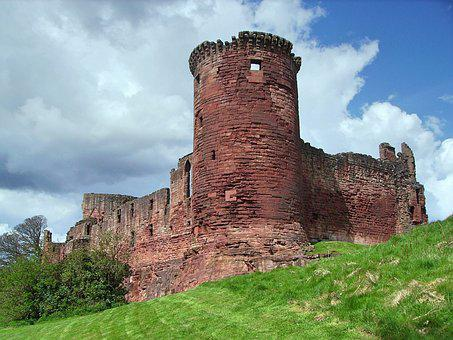 Scotland, Bothwell Castle, Medieval, Round Tower