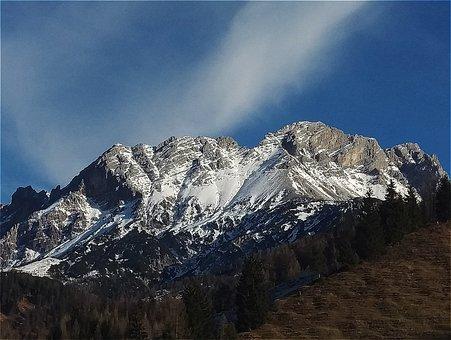 Hochfilzen, Mountains, Snow