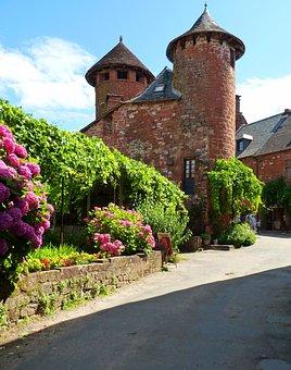 France, Old Village, French Village, Tourist Town