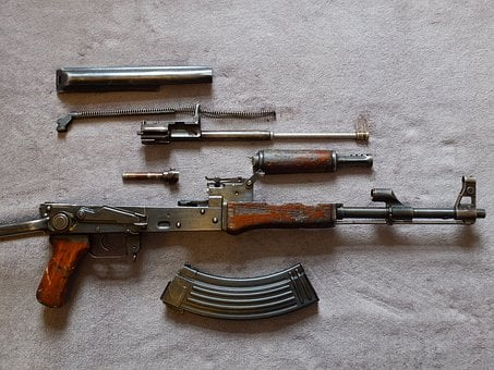 Ak47, Rifle, Terror, Terrorism, Military, War, Violent