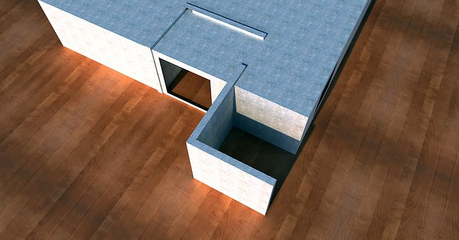 Model, Architecture, Blank, Building, Puzzles, Solution