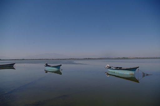 Fishing Boats, Etang, South West France