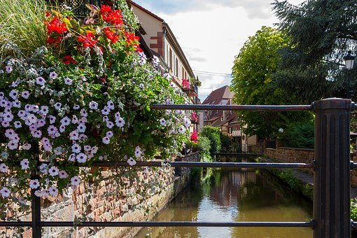 Wissembourg, France, Old Town, Channel