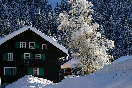 Snow, Best Wishes, Happy New Year, Alps, Mountain