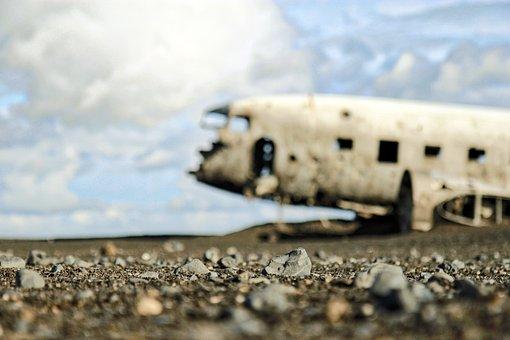 Plane, Destroyed, Broken