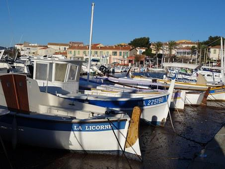 Boats, Sea, Port, Sanary
